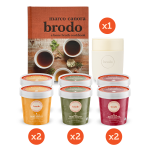 The Broth Essentials Pack with Cookbook and Mug